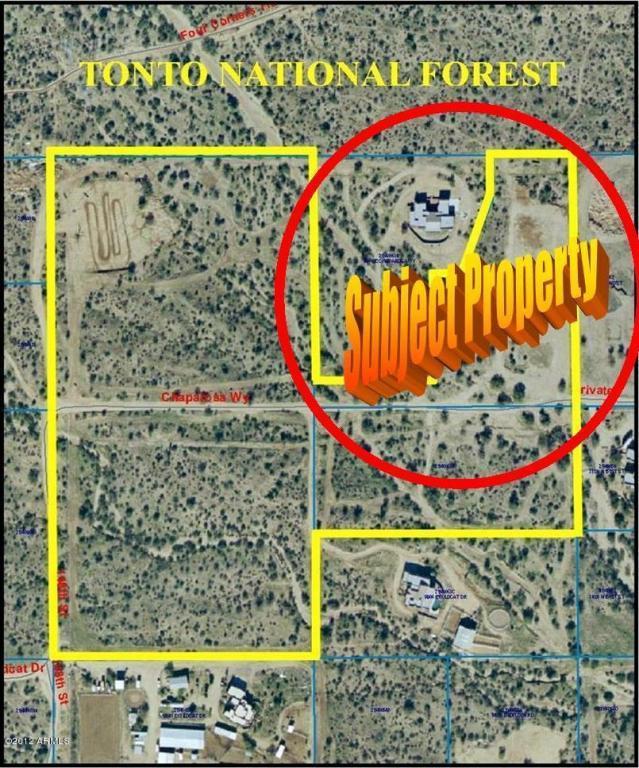 0 E Chaparosa Way, Scottsdale, AZ 85262 (MLS #5672377) :: Desert Home Premier