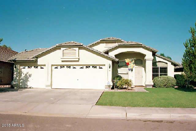 1498 S Fern Drive, Gilbert, AZ 85296 (MLS #5712520) :: The Pete Dijkstra Team