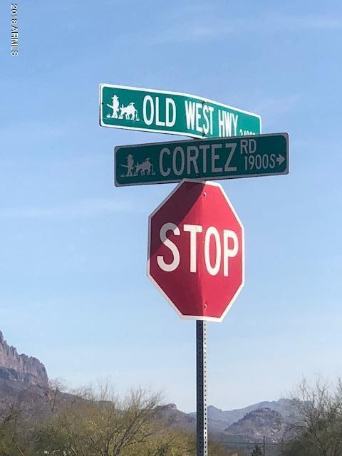 0 E (Approx) Old West Highway, Apache Junction, AZ 85119 (MLS #5717961) :: Brett Tanner Home Selling Team