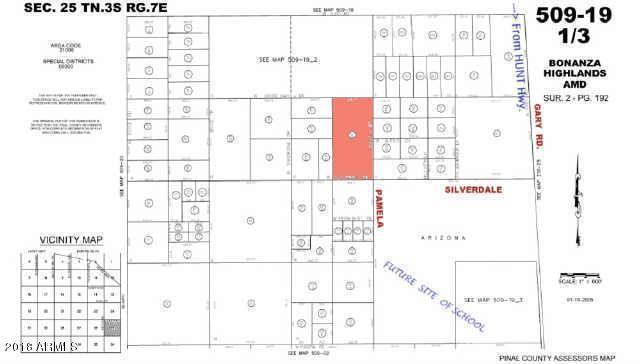 0 Silverdale Street, Queen Creek, AZ 85142 (MLS #5719213) :: Yost Realty Group at RE/MAX Casa Grande