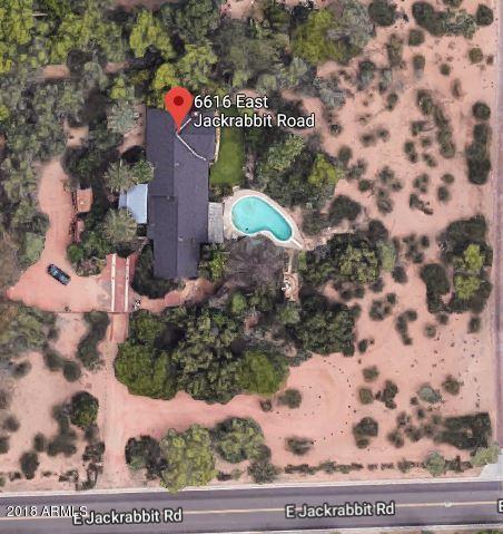 6616 E Jackrabbit Road, Paradise Valley, AZ 85253 (MLS #5725540) :: Yost Realty Group at RE/MAX Casa Grande