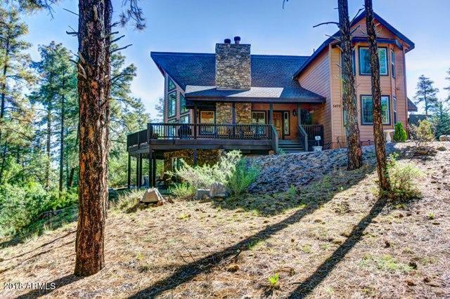 5475 W Lonesome Hawk Drive, Prescott, AZ 86305 (MLS #5737046) :: Brett Tanner Home Selling Team