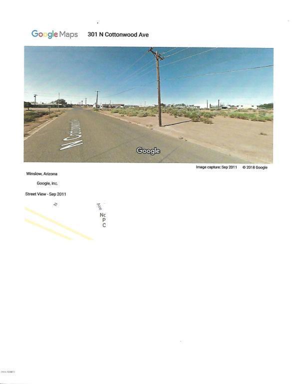 399 E 3 Rd. Street, Winslow, AZ 86047 (MLS #5737294) :: Team Wilson Real Estate