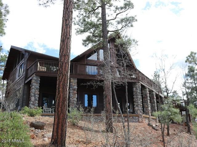 3361 W Falling Leaf Road, Lakeside, AZ 85929 (MLS #5747395) :: Riddle Realty Group - Keller Williams Arizona Realty