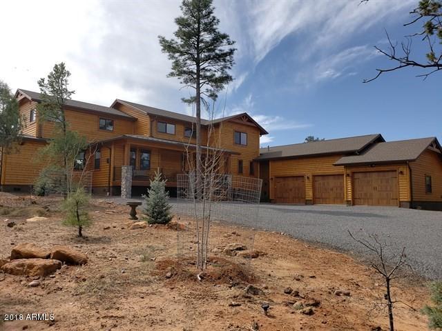 101 S Falling Leaf Road, Show Low, AZ 85901 (MLS #5747433) :: Brett Tanner Home Selling Team