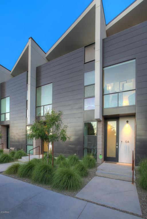 1717 N 1ST Avenue #104, Phoenix, AZ 85003 (MLS #5754252) :: Brett Tanner Home Selling Team