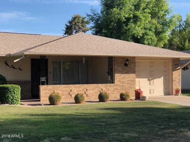 9805 W Sandstone Drive, Sun City, AZ 85351 (MLS #5756999) :: Desert Home Premier