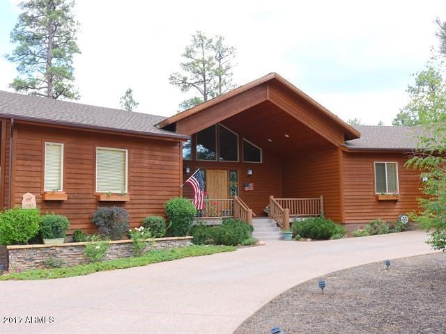 441 N Silverleaf Lane, Show Low, AZ 85901 (MLS #5757734) :: Team Wilson Real Estate