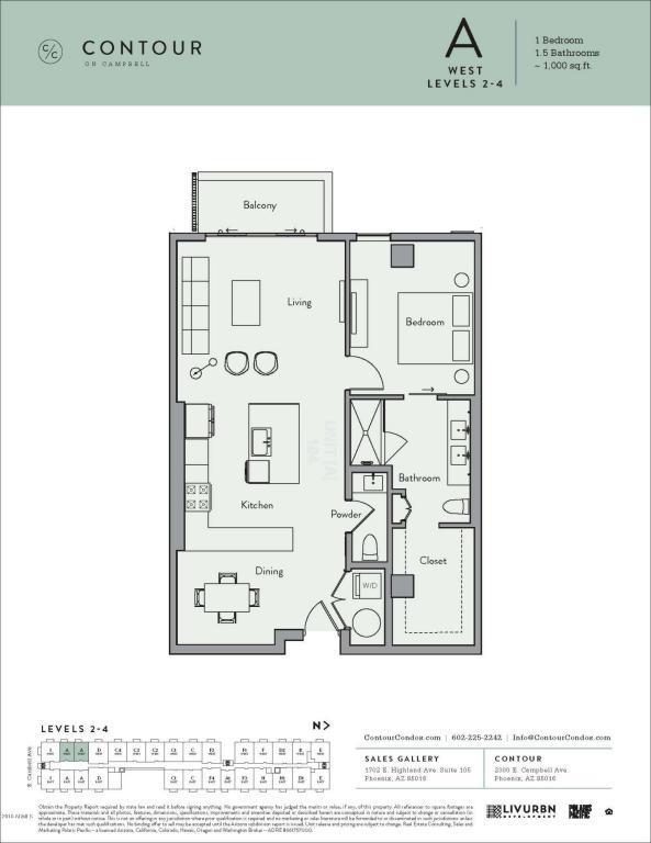 2300 E Campbell Avenue #404, Phoenix, AZ 85016 (MLS #5770623) :: Lux Home Group at  Keller Williams Realty Phoenix