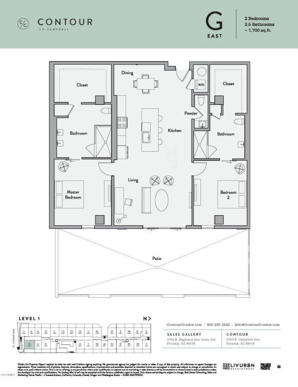 2300 E Campbell Avenue #103, Phoenix, AZ 85016 (MLS #5770688) :: Lux Home Group at  Keller Williams Realty Phoenix