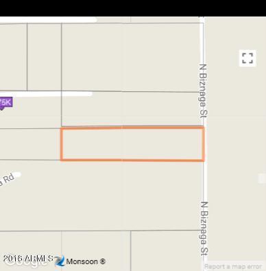 0 N Biznaga Street, Florence, AZ 85132 (MLS #5785446) :: Revelation Real Estate