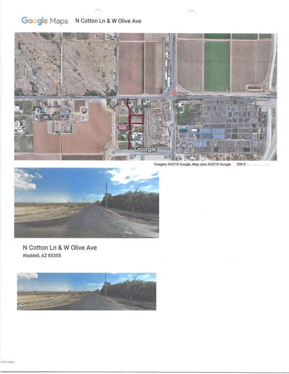 Olive & 172nd Lane, Waddell, AZ 85355 (MLS #5793084) :: The AZ Performance Realty Team
