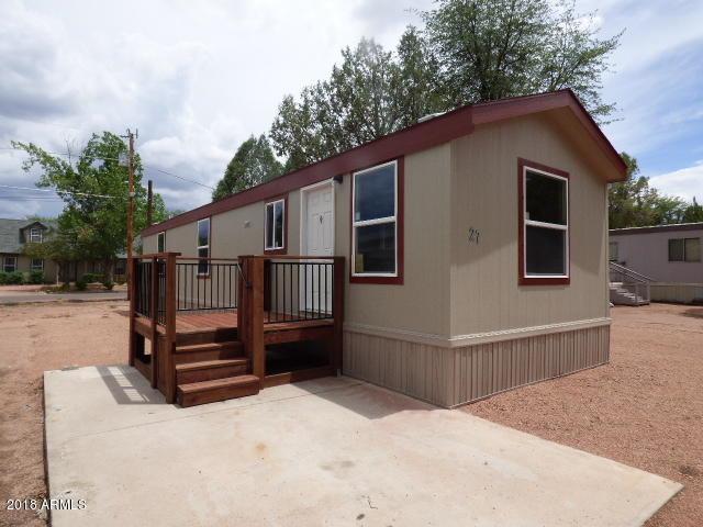 703 E Frontier Street #27, Payson, AZ 85541 (MLS #5793620) :: The Daniel Montez Real Estate Group
