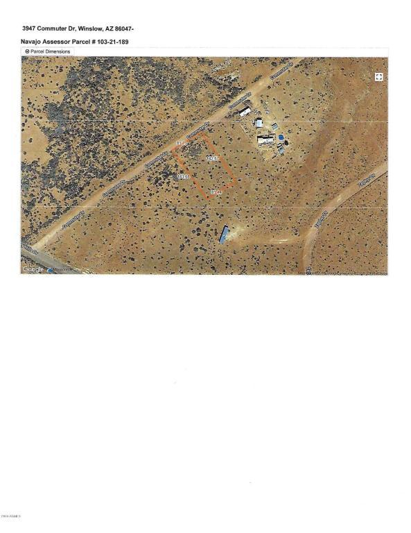 3947 Commuter Drive, Winslow, AZ 86047 (MLS #5809467) :: Yost Realty Group at RE/MAX Casa Grande
