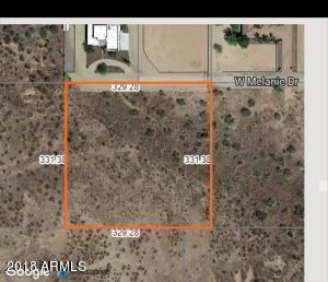 0 W Melanie Drive, Wittmann, AZ 85361 (MLS #5834489) :: Revelation Real Estate