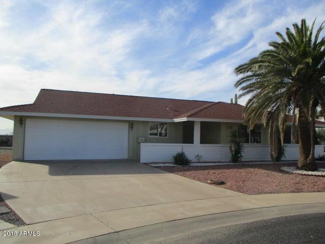 11130 W Nocturne Court, Sun City, AZ 85351 (MLS #5849254) :: CC & Co. Real Estate Team