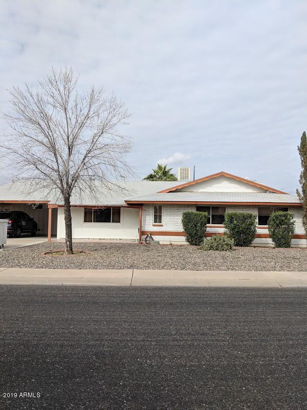 10502 W Crosby Drive, Sun City, AZ 85351 (MLS #5877431) :: The Laughton Team