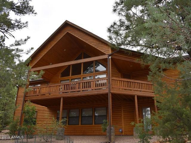 1431 E Pine Oaks Drive, Show Low, AZ 85901 (MLS #5938749) :: Brett Tanner Home Selling Team
