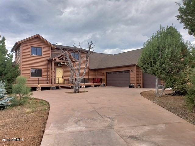 1180 S Wild Rose Lane, Show Low, AZ 85901 (MLS #5939172) :: Brett Tanner Home Selling Team