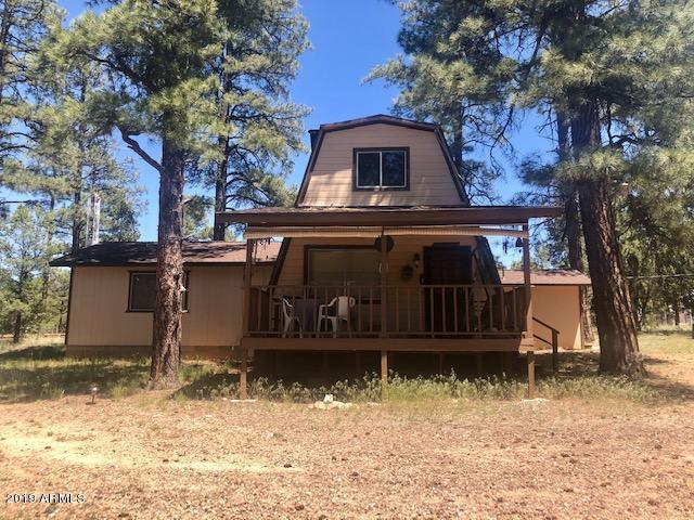 3031 Ponderosa Road, Overgaard, AZ 85933 (MLS #5940864) :: Nate Martinez Team
