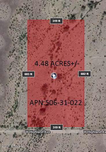 46744 W Highland Avenue, Tonopah, AZ 85354 (MLS #5959052) :: Revelation Real Estate