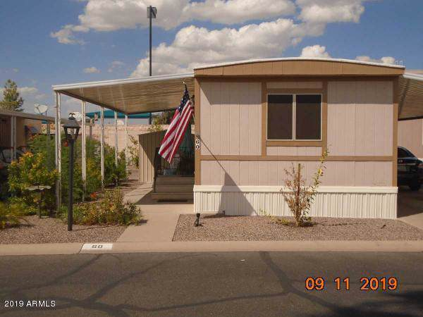 535 S Alma School Road #60, Mesa, AZ 85210 (MLS #5979175) :: The Property Partners at eXp Realty