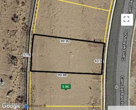 LOT 9 E Camino Del Rancho, Douglas, AZ 85607 (MLS #5994694) :: The Kenny Klaus Team