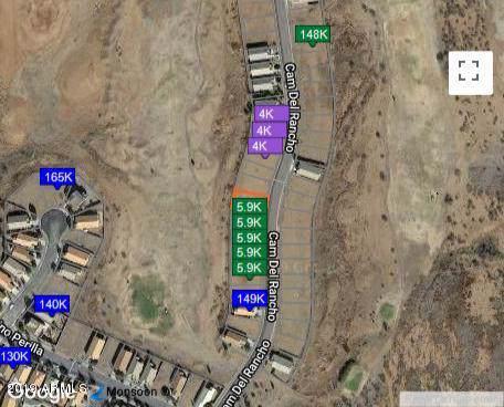 LOT 10 E Camino Del Rancho, Douglas, AZ 85607 (MLS #5994713) :: The Kenny Klaus Team