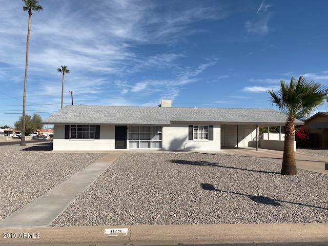 812 N Coolidge Avenue, Casa Grande, AZ 85122 (MLS #5998715) :: The Kenny Klaus Team