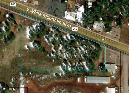 TBD White Mountain Blvd, Pinetop, AZ 85935 (MLS #6013376) :: Revelation Real Estate