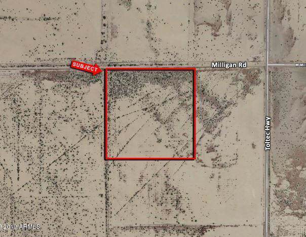 0 W Milligan Road, Eloy, AZ 85131 (MLS #6016827) :: Midland Real Estate Alliance