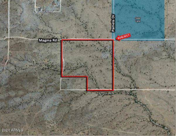 0 Magma Road, Johnson Ranch, AZ 85243 (MLS #6022481) :: Devor Real Estate Associates