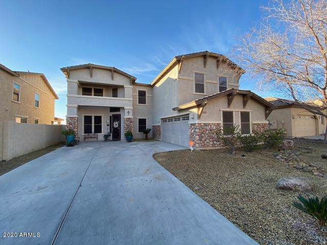 341 W Key West Drive, Casa Grande, AZ 85122 (MLS #6029109) :: Brett Tanner Home Selling Team