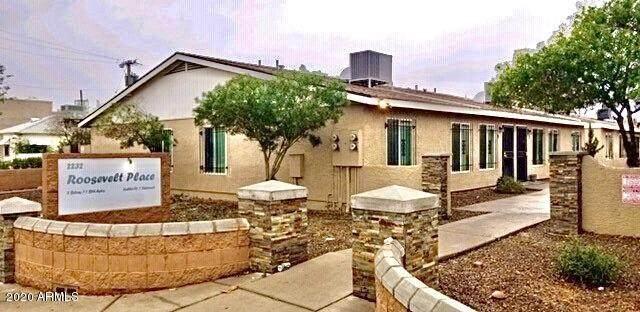 2232 E Roosevelt Street Ofc, Phoenix, AZ 85006 (MLS #6038099) :: Riddle Realty Group - Keller Williams Arizona Realty