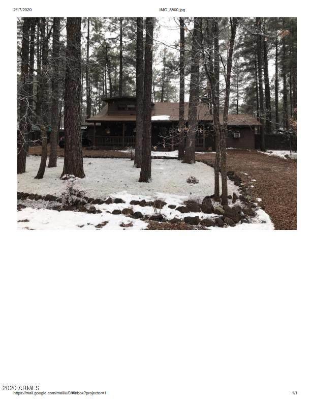 940 S Evergreen P L, Pinetop, AZ 85935 (MLS #6043568) :: Brett Tanner Home Selling Team