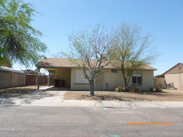 251 E Hess Avenue, Coolidge, AZ 85128 (MLS #6076839) :: The Daniel Montez Real Estate Group