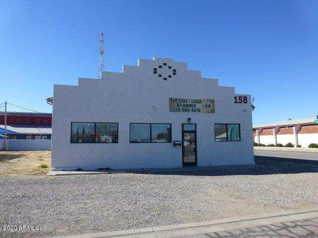 158 E Maley Street, Willcox, AZ 85643 (MLS #6091487) :: Long Realty West Valley