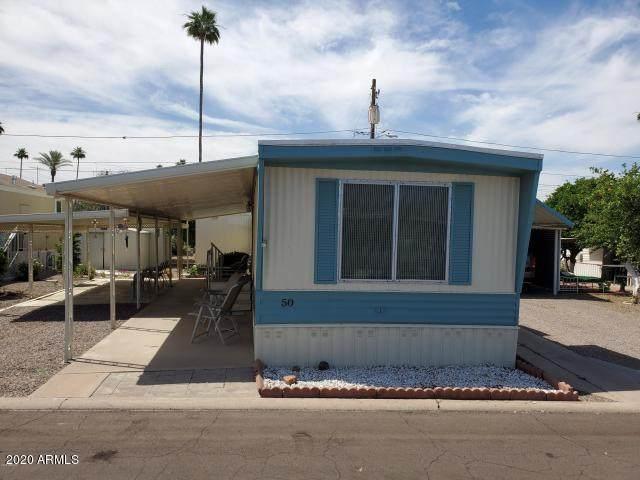 530 S Alma School Road #50, Mesa, AZ 85210 (MLS #6107975) :: Brett Tanner Home Selling Team