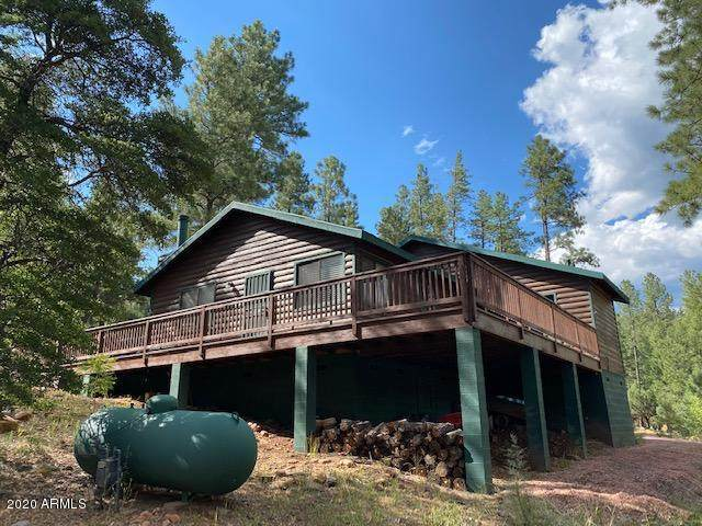 109 W Wild Cougar Way, Christopher Creek, AZ 85541 (MLS #6113315) :: The Property Partners at eXp Realty