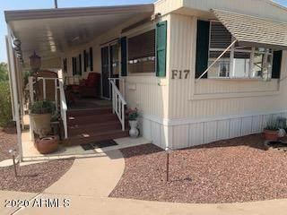2460 E Main Street F17, Mesa, AZ 85213 (MLS #6135220) :: The Daniel Montez Real Estate Group