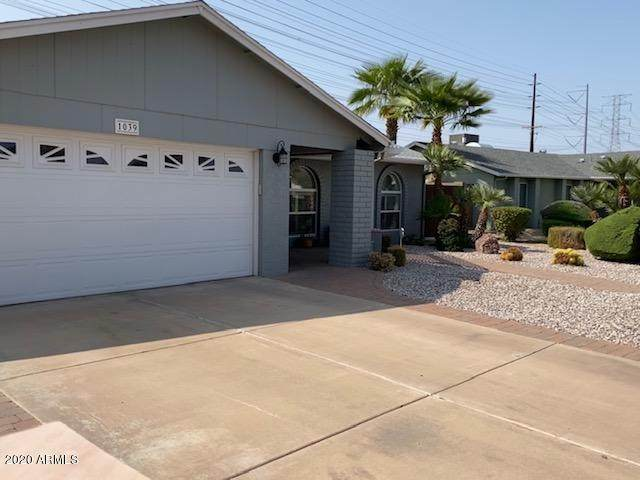 1039 W Peralta Avenue W, Mesa, AZ 85210 (MLS #6136057) :: Homehelper Consultants