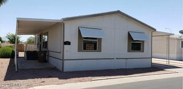 9431 E Coralbell Avenue #15, Mesa, AZ 85208 (MLS #6150526) :: Devor Real Estate Associates