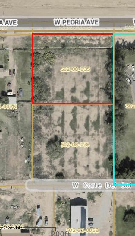 0 Peoria, Waddell, AZ 85355 (MLS #6156566) :: Devor Real Estate Associates