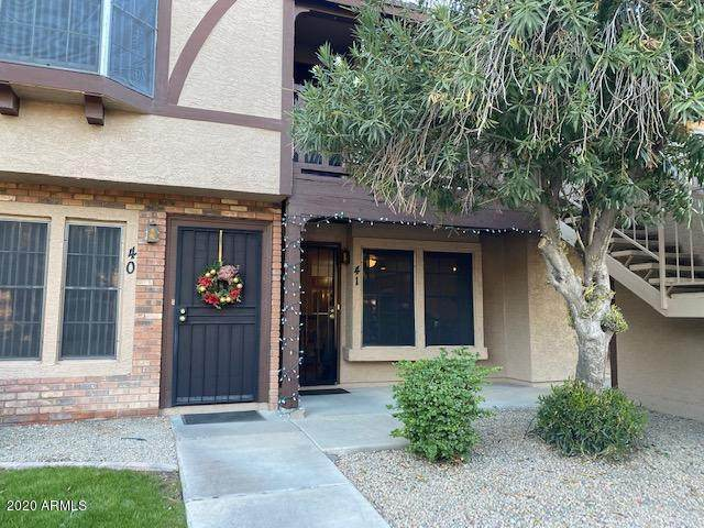 8111 W Wacker Road W #41, Peoria, AZ 85381 (MLS #6168099) :: Conway Real Estate