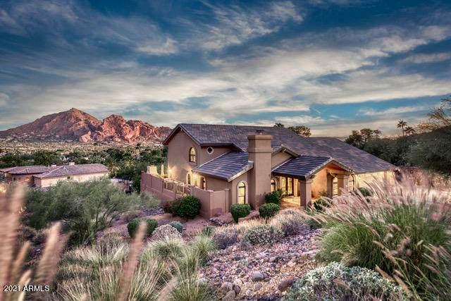 7045 N Hillside Drive, Paradise Valley, AZ 85253 (MLS #6182352) :: The Laughton Team