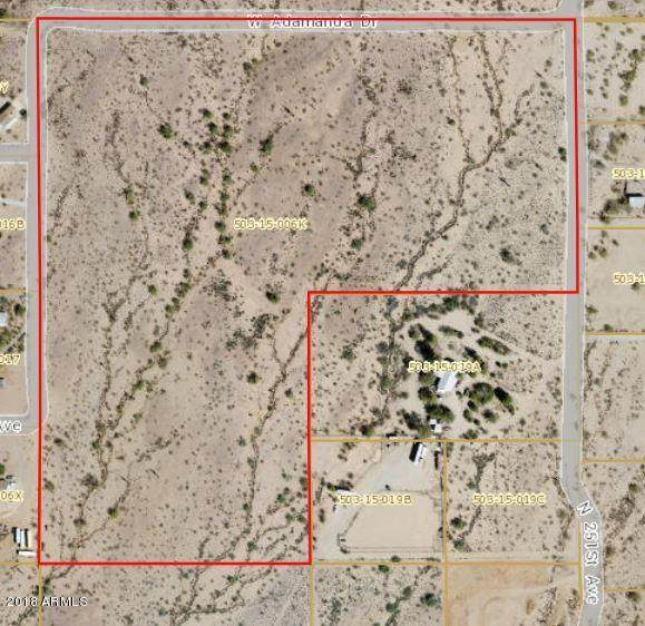 25339 W Irvine (Parcel A) Road, Morristown, AZ 85342 (MLS #6194108) :: Yost Realty Group at RE/MAX Casa Grande