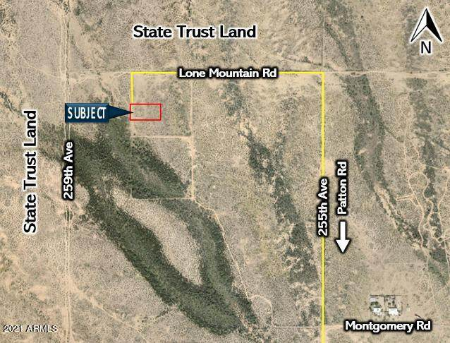 25751 W Lone Mountain Road, Wittmann, AZ 85361 (MLS #6195217) :: Yost Realty Group at RE/MAX Casa Grande