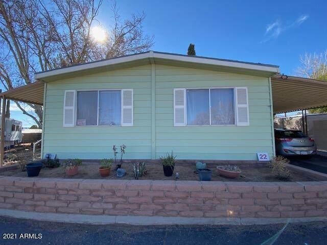 3300 E Fry Boulevard #22, Sierra Vista, AZ 85635 (MLS #6199919) :: Yost Realty Group at RE/MAX Casa Grande