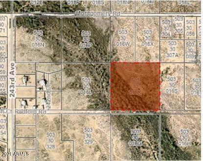 0 W Radford Road, Wittmann, AZ 85361 (MLS #6207408) :: Long Realty West Valley