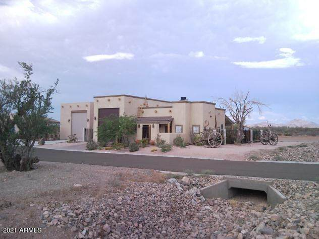 340 E Paseo Entrada Street, Quartzsite, AZ 85346 (MLS #6217474) :: Devor Real Estate Associates